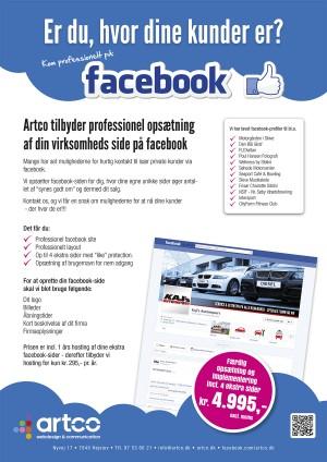 Facebook sider