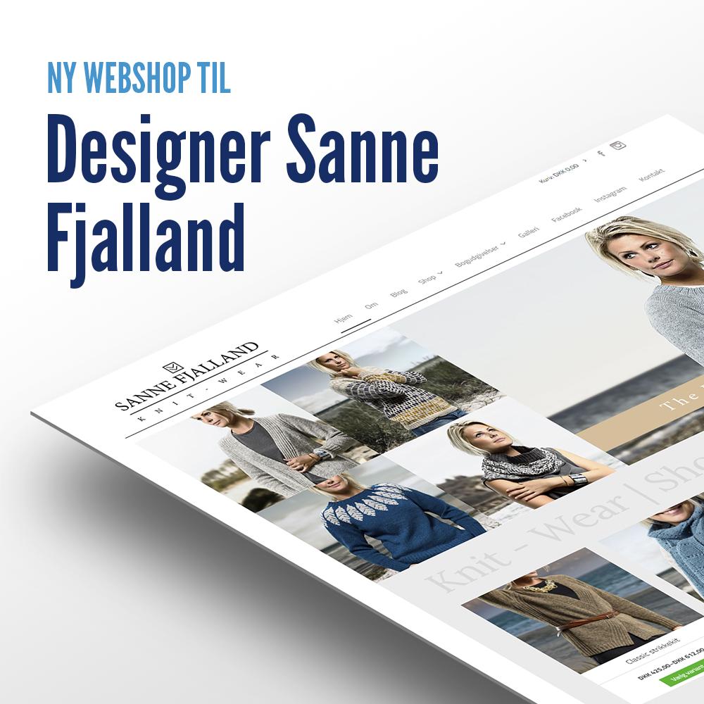 Designer Sanne Fjalland